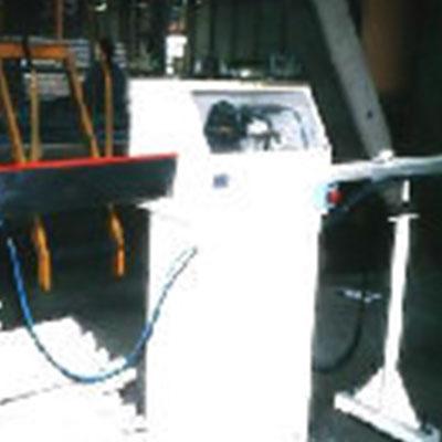 Máquina cortadora de Tubos de Cartón