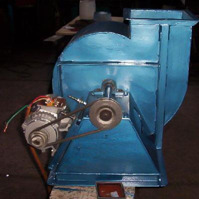 Ventilador centrífugo con motor
